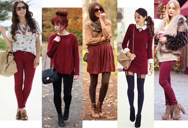 looks burgundy 2